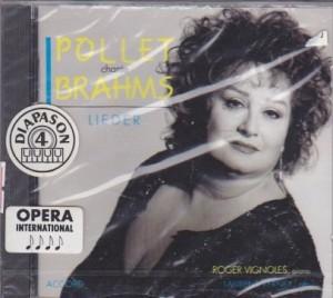 CD Chante Brahms